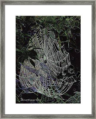 Night Lines Framed Print by EricaMaxine  Price