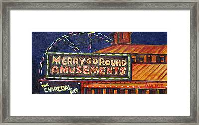 Night Merry's Framed Print by Patricia Arroyo