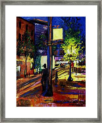Night Moves Framed Print by Anthony Falbo