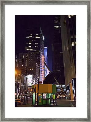 Night Needle Framed Print by Art Ferrier