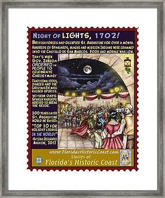 Night Of Lights Framed Print