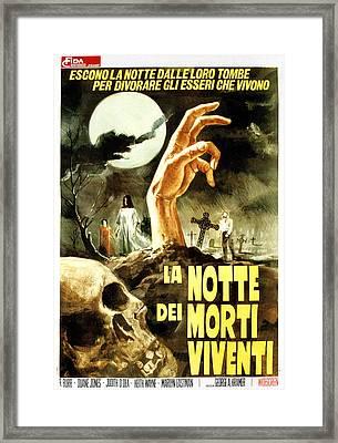 Night Of The Living Dead, Aka La Notte Framed Print