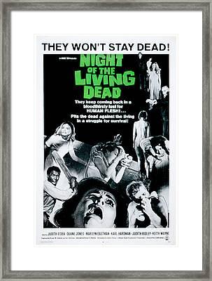 Night Of The Living Dead, Duane Jones Framed Print