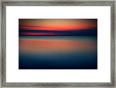 Night On The North Of Sweden Framed Print by Marek Czaja