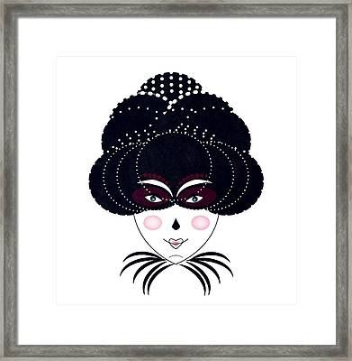 Night Out Framed Print by Andrea Lantos
