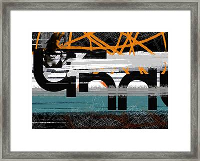 Night Out Framed Print by Naxart Studio