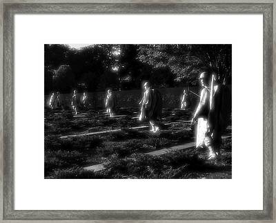 Night Patrol Framed Print by Steven Ainsworth