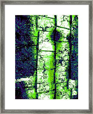 Night Terror Framed Print by Micheal Landers
