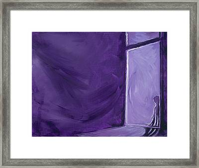 Night Time Framed Print by David Junod