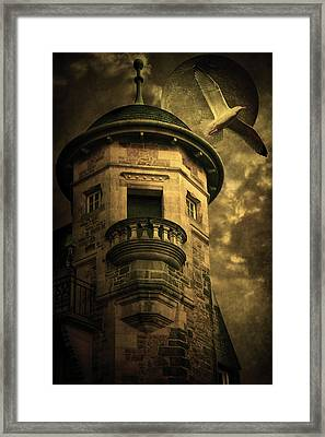Night Tower Framed Print by Svetlana Sewell