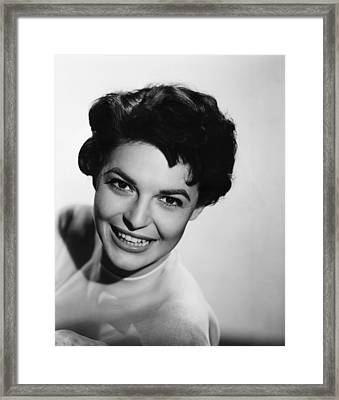 Nightfall, Anne Bancroft, 1957 Framed Print