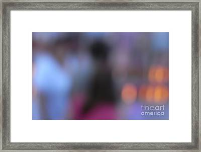 Framed Print featuring the photograph Imagine Nightfall At The Funfair by Andy Prendy