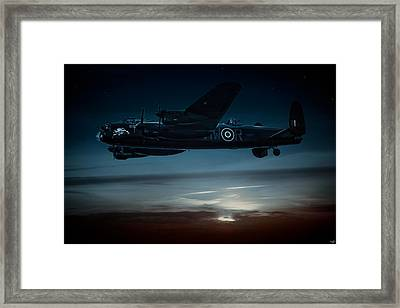 Nightflight Framed Print by Chris Lord