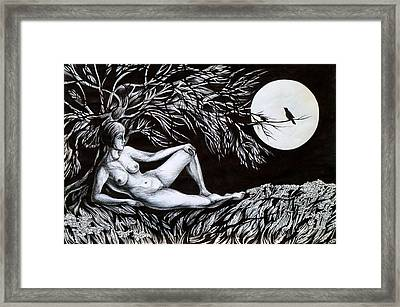 Nightingale Song. Part One Framed Print
