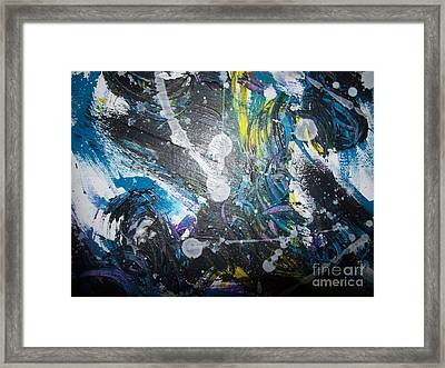 Nightlights 1 Framed Print