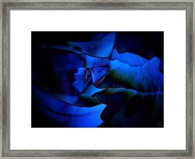 Nightly Blues Framed Print by Gun Legler