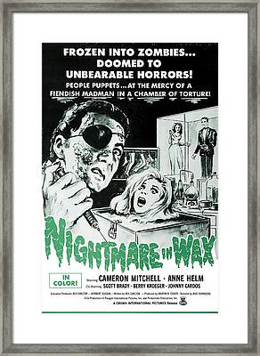 Nightmare In Wax, Cameron Mitchell Framed Print