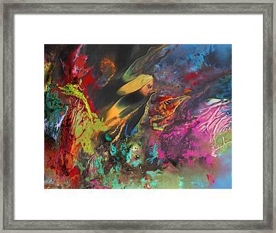 Nightmare Framed Print by Miki De Goodaboom