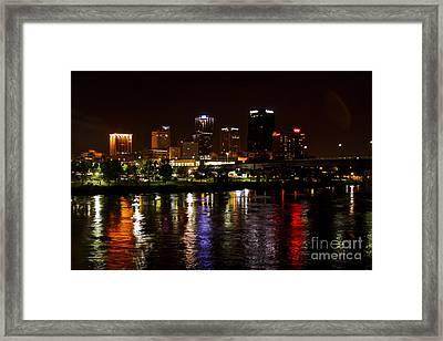 Nights In Little Rock Framed Print