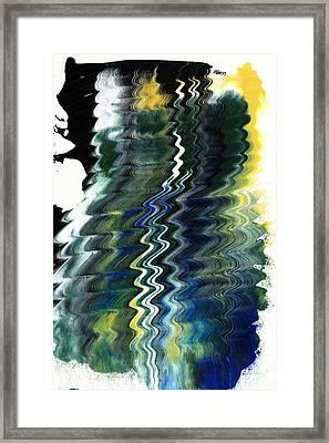 Nights Of Green Framed Print