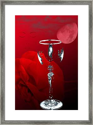 Nights Of Wine And Roses  Framed Print