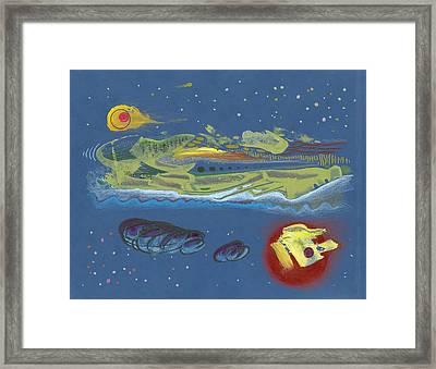 Nightworld Framed Print by Ralf Schulze