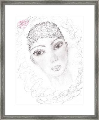 Nika Framed Print by Kira Nech