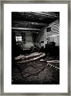 Nike Base Framed Print by Dom Manfredo