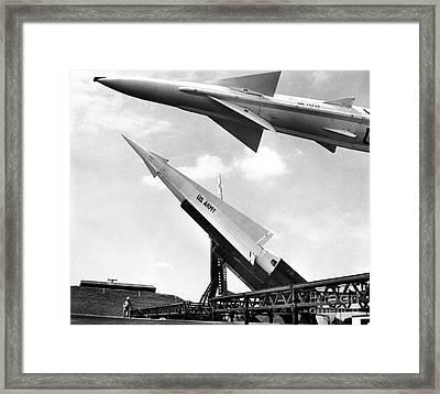 Nike Missile, C1959 Framed Print by Granger