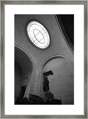 Nike Reached The Light Framed Print