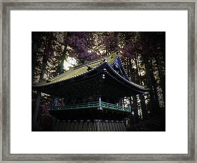 Nikko Architectural Detail Framed Print by Naxart Studio