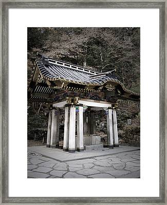 Nikko Architecture Framed Print by Naxart Studio