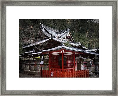 Nikko Monastery Building Framed Print by Naxart Studio