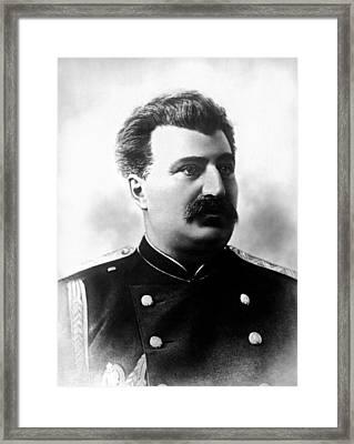 Nikolai Przhevalsky, Russian Explorer Framed Print by Ria Novosti