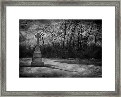 Nine O Clock Shine  Framed Print by Empty Wall