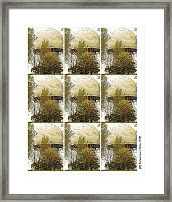 Nine Framed Print by Tobeimean Peter