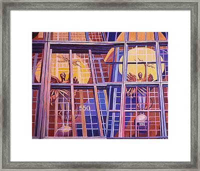 Ninth In Att Series Framed Print