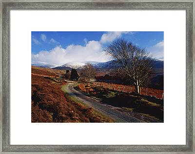 Nire Valley Drive, County Waterford Framed Print by Richard Cummins