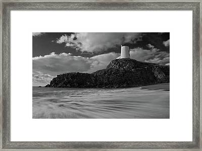Niwbwrch Lighthouse Framed Print