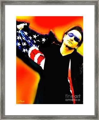 Nixo Bono Framed Print
