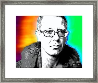 Nixo U2 Framed Print by Nicholas Nixo