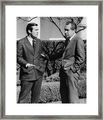Nixon Presidency. Us Ambassador To Nato Framed Print