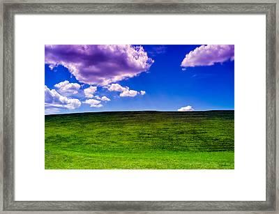 Nj's Bliss Framed Print by Alhaji Samura