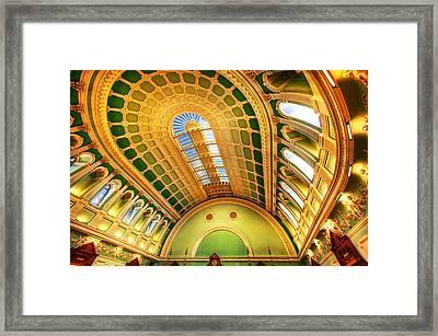 Nli Dublin Framed Print by John Galbo