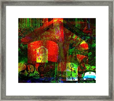 No Boss In This House Framed Print