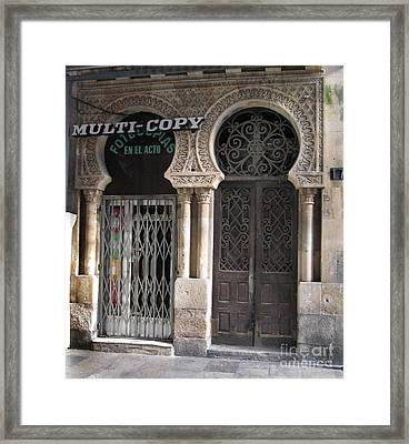 No Copy Framed Print by Arlene Carmel
