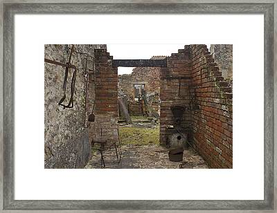 No Craftsman Of Any Craft Will Be Found In You Any Longer Framed Print by Georgia Fowler