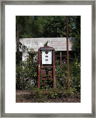 No Customers For Awhile Framed Print by David Dittmann