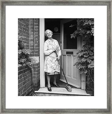 No Dust In My House Framed Print by Chaloner Woods