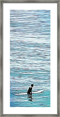 No Hurry Framed Print by Brian D Meredith